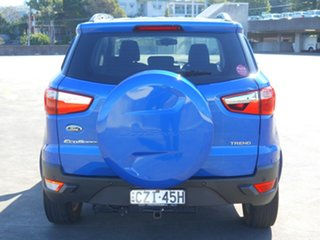 2015 Ford Ecosport BK Trend PwrShift Blue 6 Speed Sports Automatic Dual Clutch Wagon