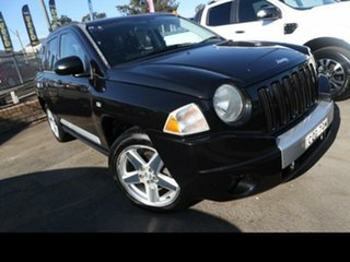 2007 Jeep Compass MK Limited Black 6 Speed Manual Wagon.