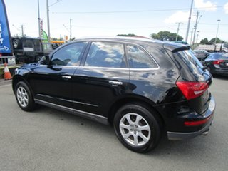 2009 Audi Q5 8R MY10 TDI S Tronic Quattro Black 7 Speed Sports Automatic Dual Clutch Wagon.