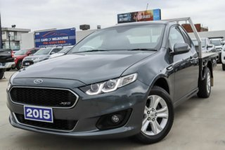 2015 Ford Falcon FG X XR6 Super Cab Grey 6 Speed Sports Automatic Cab Chassis.