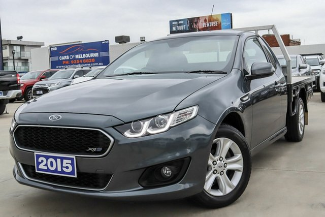 Used Ford Falcon FG X XR6 Super Cab Coburg North, 2015 Ford Falcon FG X XR6 Super Cab Grey 6 Speed Sports Automatic Cab Chassis