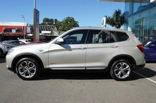2017 BMW X3 F25 MY17 Update xDrive20d Mineral Silver 8 Speed Automatic Wagon