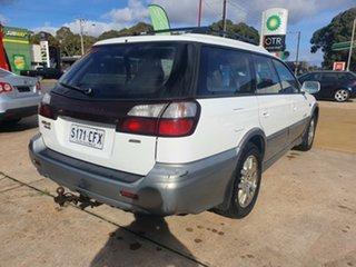 2002 Subaru Outback B3A MY03 H6 AWD Luxury White 4 Speed Automatic Wagon.