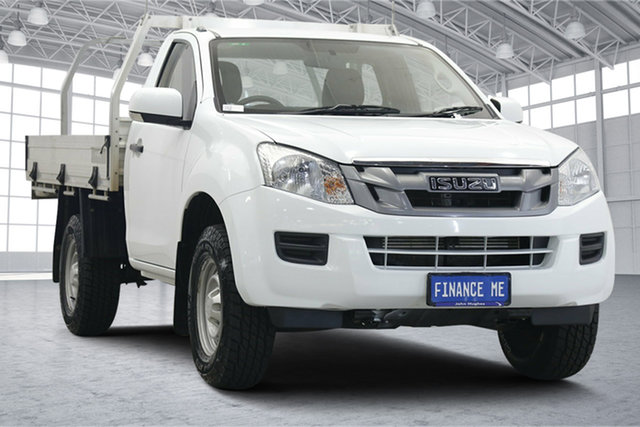 Used Isuzu D-MAX MY15 SX 4x2 High Ride Victoria Park, 2015 Isuzu D-MAX MY15 SX 4x2 High Ride White 5 Speed Sports Automatic Cab Chassis