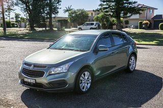 2015 Holden Cruze JH Series II MY15 Equipe Green 6 Speed Sports Automatic Hatchback.