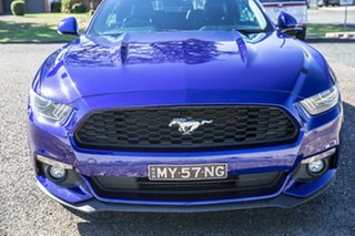 2015 Ford Mustang FM SelectShift Blue 6 Speed Sports Automatic Convertible.