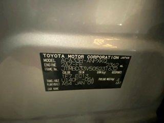2009 Toyota RAV4 ACA33R MY09 CV Metallic Silver 4 Speed Automatic Wagon