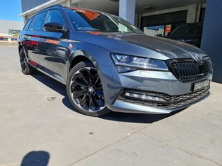 2020 Skoda Superb NP MY21 206TSI DSG SportLine Quartz Grey 6 Speed Sports Automatic Dual Clutch
