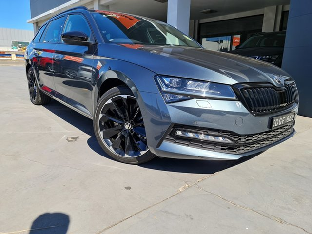 Demo Skoda Superb NP MY21 206TSI DSG SportLine Parramatta, 2020 Skoda Superb NP MY21 206TSI DSG SportLine Quartz Grey 6 Speed Sports Automatic Dual Clutch