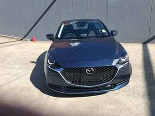 2021 Mazda 2 DJ2HA6 G15 SKYACTIV-MT Pure Eternal Blue 6 Speed Manual Hatchback.