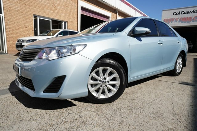 Used Toyota Camry ASV50R Altise Narrabeen, 2015 Toyota Camry ASV50R Altise Blue 6 Speed Sports Automatic Sedan