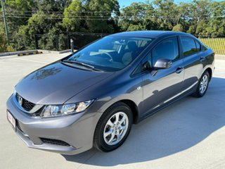 2015 Honda Civic 9th Gen Ser II MY15 VTi Grey 5 Speed Sports Automatic Sedan.
