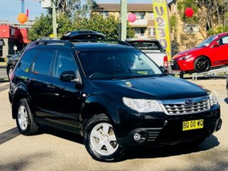 2012 Subaru Forester S3 MY12 X AWD Luxury Edition Black 4 Speed Sports Automatic Wagon.