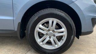 2010 Hyundai Santa Fe CM MY10 Elite CRDi (4x4) Blue 6 Speed Automatic Wagon