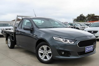 2015 Ford Falcon FG X XR6 Super Cab Grey 6 Speed Sports Automatic Cab Chassis