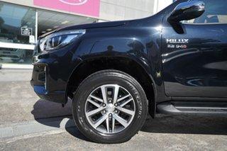 2019 Toyota Hilux GUN126R SR5 Double Cab Black 6 Speed Sports Automatic Utility.