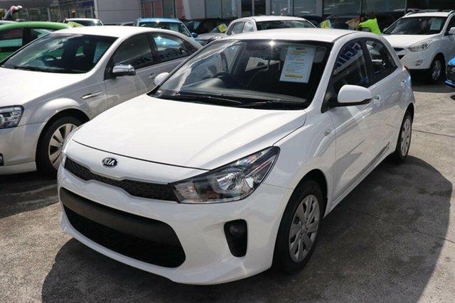 Used Kia Rio YB MY20 S Springwood, 2019 Kia Rio YB MY20 S Clear White 4 Speed Sports Automatic Hatchback