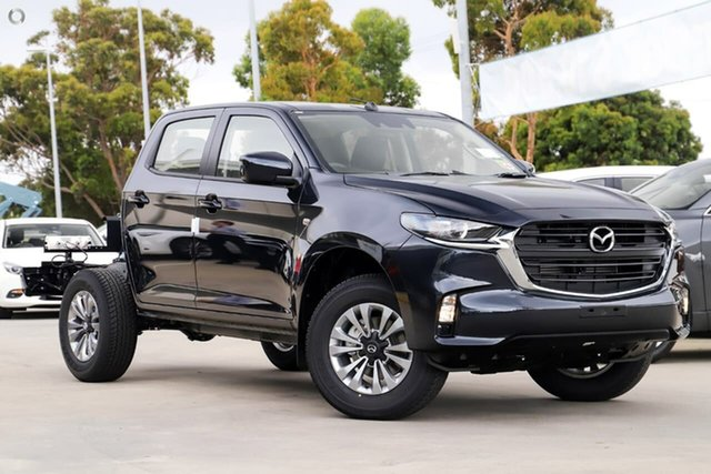 New Mazda BT-50 TFS40J XT Waitara, 2021 Mazda BT-50 TFS40J XT Blue 6 Speed Sports Automatic Cab Chassis