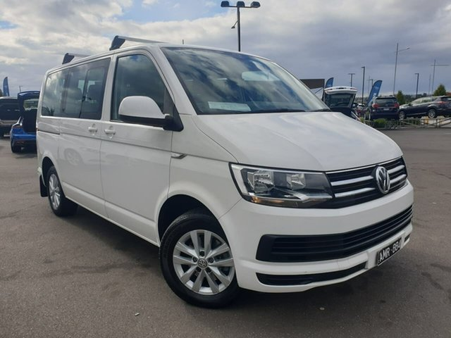 Used Volkswagen Multivan T6 MY17.5 TDI340 SWB DSG Comfortline Essendon Fields, 2017 Volkswagen Multivan T6 MY17.5 TDI340 SWB DSG Comfortline 7 Speed Sports Automatic Dual Clutch