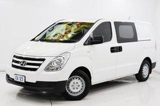 2018 Hyundai iLOAD TQ3-V Series II MY18 White 5 Speed Automatic Van.