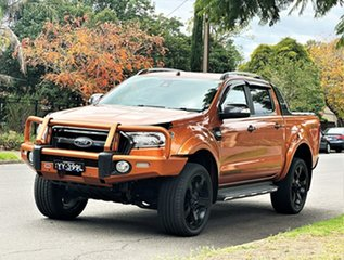 2016 Ford Ranger PX MkII Wildtrak Double Cab Gold 6 Speed Sports Automatic Utility.