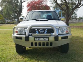 2012 Nissan Navara D22 Series 5 ST-R (4x4) White 5 Speed Manual Dual Cab Pick-up