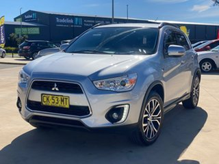 2016 Mitsubishi ASX LS Silver Constant Variable Wagon.