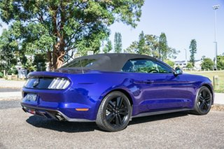2015 Ford Mustang FM SelectShift Blue 6 Speed Sports Automatic Convertible