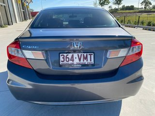 2015 Honda Civic 9th Gen Ser II MY15 VTi Grey 5 Speed Sports Automatic Sedan