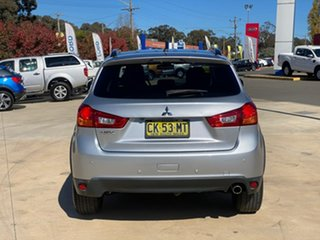 2016 Mitsubishi ASX LS Silver Constant Variable Wagon