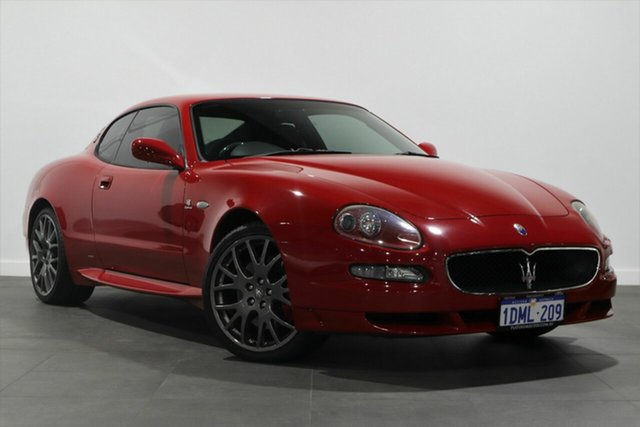 Used Maserati GRANSPORT M138 Cambiocorsa Bayswater, 2007 Maserati GRANSPORT M138 Cambiocorsa Red 6 Speed Sports Automatic Single Clutch Coupe