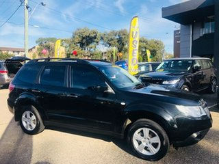 2012 Subaru Forester S3 MY12 X AWD Luxury Edition Black 4 Speed Sports Automatic Wagon