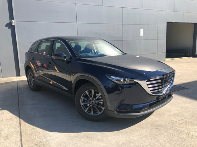 New Mazda CX-9 TC Touring SKYACTIV-Drive i-ACTIV AWD Alexandria, 2021 Mazda CX-9 TC Touring SKYACTIV-Drive i-ACTIV AWD Deep Crystal Blue 6 Speed Sports Automatic
