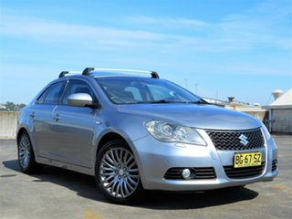 2010 Suzuki Kizashi FR XLS Silver 6 Speed Constant Variable Sedan.