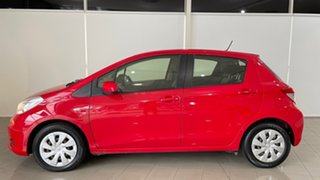 2013 Toyota Yaris NCP131R YRS Red 4 Speed Automatic Hatchback