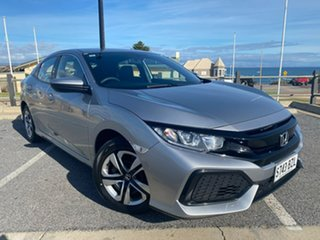 2018 Honda Civic 10th Gen MY18 VTi Silver 1 Speed Constant Variable Hatchback.