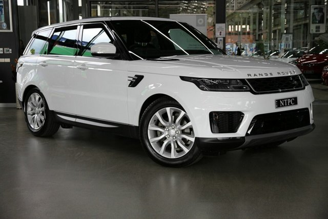 Used Land Rover Range Rover Sport L494 19.5MY SE North Melbourne, 2019 Land Rover Range Rover Sport L494 19.5MY SE White 8 Speed Sports Automatic Wagon