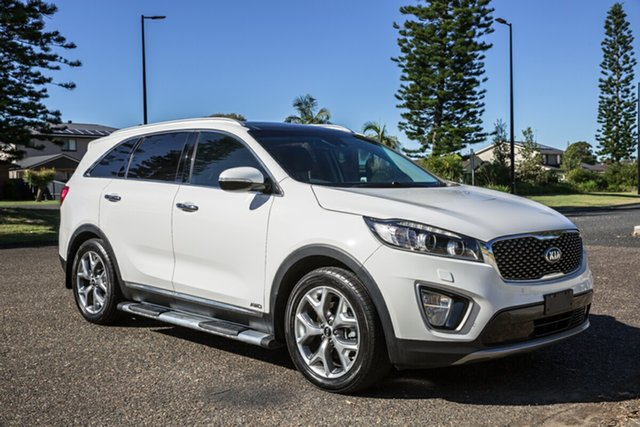 Used Kia Sorento UM MY16 Platinum AWD Port Macquarie, 2015 Kia Sorento UM MY16 Platinum AWD White 6 Speed Sports Automatic Wagon