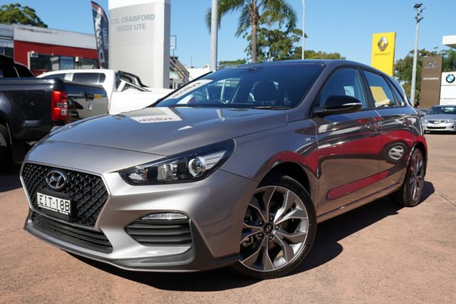 Used Hyundai i30 PD.3 MY20 N Line (Sunroof) Brookvale, 2020 Hyundai i30 PD.3 MY20 N Line (Sunroof) Grey 6 Speed Manual Hatchback