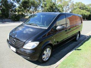 2010 Mercedes-Benz Vito 639 MY10 111CDI Crew Cab Extra Long Black 5 Speed Automatic Van