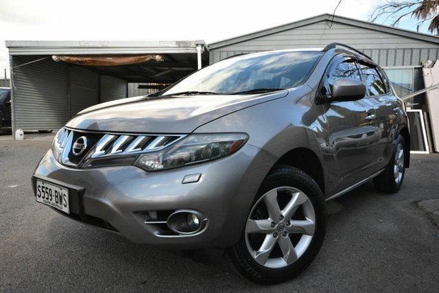 Used Nissan Murano Z51 TI Blair Athol, 2009 Nissan Murano Z51 TI Grey Continuous Variable Wagon