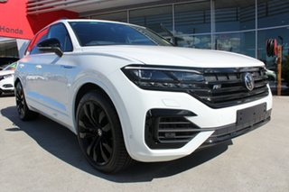2021 Volkswagen Touareg CR MY21 V8 TDI Tiptronic 4MOTION Wolfsburg Edition Pure White 8 Speed.