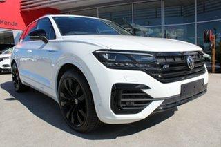 2021 Volkswagen Touareg CR MY21 V8 TDI Tiptronic 4MOTION Wolfsburg Edition Pure White 8 Speed.