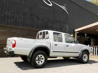 2005 Ford Courier PH XL Crew Cab Silver 5 Speed Manual Utility