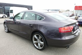 2010 Audi A5 8T MY10 Sportback S Tronic Quattro Grey 7 Speed Sports Automatic Dual Clutch Hatchback