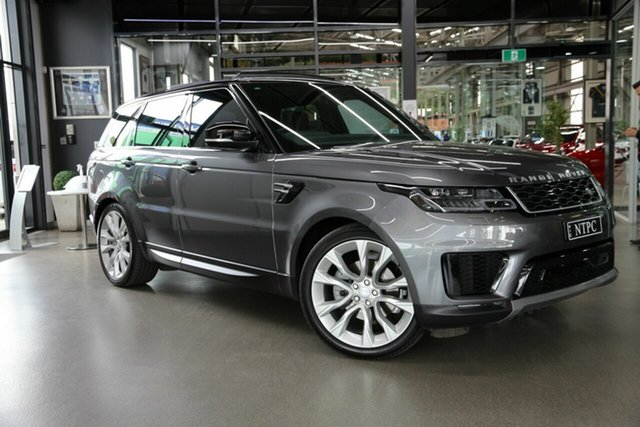 Used Land Rover Range Rover Sport L494 19.5MY SE North Melbourne, 2019 Land Rover Range Rover Sport L494 19.5MY SE Grey 8 Speed Sports Automatic Wagon
