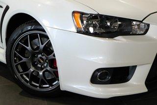 2015 Mitsubishi Lancer CJ MY15 Evolution Final Edition White 5 Speed Manual Sedan.