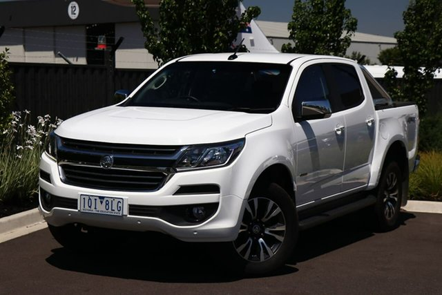 Used Holden Colorado RG MY20 LTZ Pickup Crew Cab Essendon Fields, 2019 Holden Colorado RG MY20 LTZ Pickup Crew Cab White 6 Speed Sports Automatic Utility