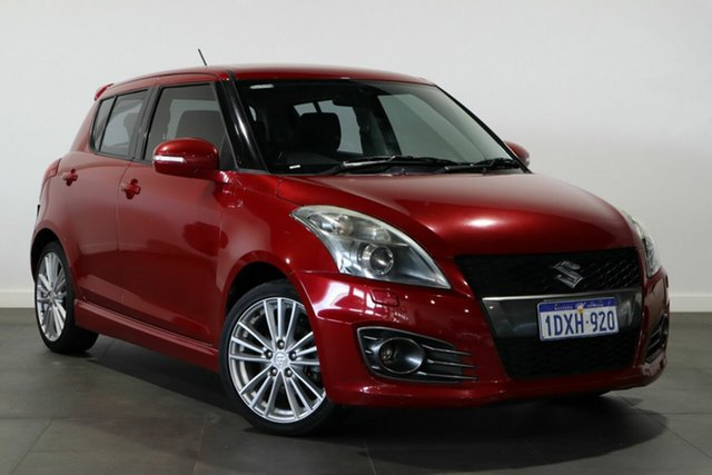 Used Suzuki Swift FZ Sport Bayswater, 2012 Suzuki Swift FZ Sport Red 7 Speed Constant Variable Hatchback