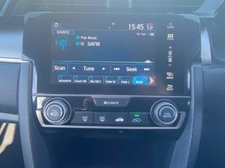 2018 Honda Civic 10th Gen MY18 VTi Silver 1 Speed Constant Variable Hatchback